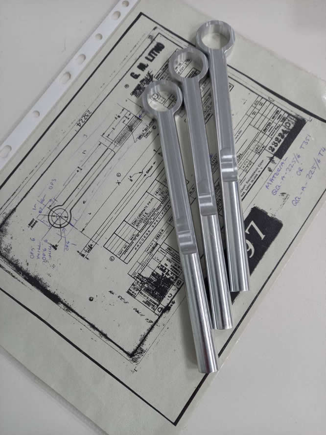 CNC Engineered Aircraft Components by Kennet Engineering